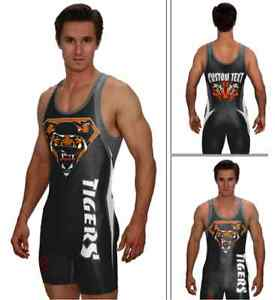 19ca88738b82a Image is loading Super-tiger-wrestling-singlet-powerlifting-singlet -includes-custom-