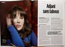 LE POINT 2014:  Interview ISABELLE ADJANI_OZWALD BOATENG_SPECIAL CHAMPAGNE