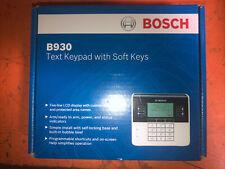 Bosch B930 Security Text Keypad With Soft Keys Nib
