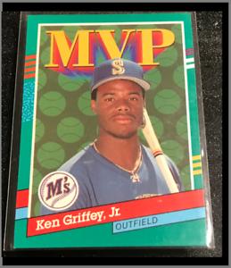 🏆Gem Mint 1990 Ken Griffey Jr. MVP Card #392 Rare Error (No dot after Inc.)