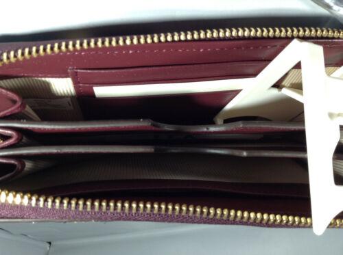 BNWT Genuine Radley London Clifton Hall Leather Zip-around Wristlet//Purse