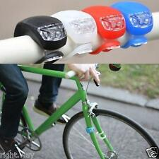 2PCs Bicycle Cycle Bike Front Rear HandleBar Wheel LED Flash Safe Light Lamp
