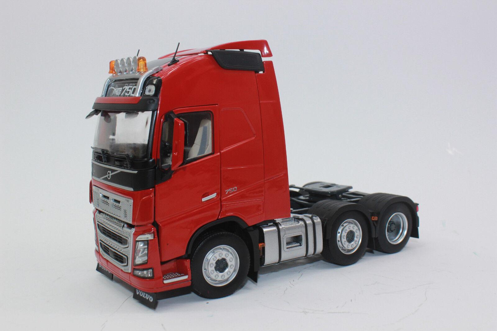Marge 1811-03 tractor 3 alineación Volvo FH 16 rojo nuevo con embalaje original  1 32