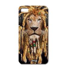 "CUSTODIA COVER CASE LEONE RASTA LION MUSIC PER iPHONE 6 4.7"""