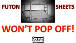 Details About Won T Pop Off Futon Ed Sheet Fits Full Size 3 6 Inches Many Colors
