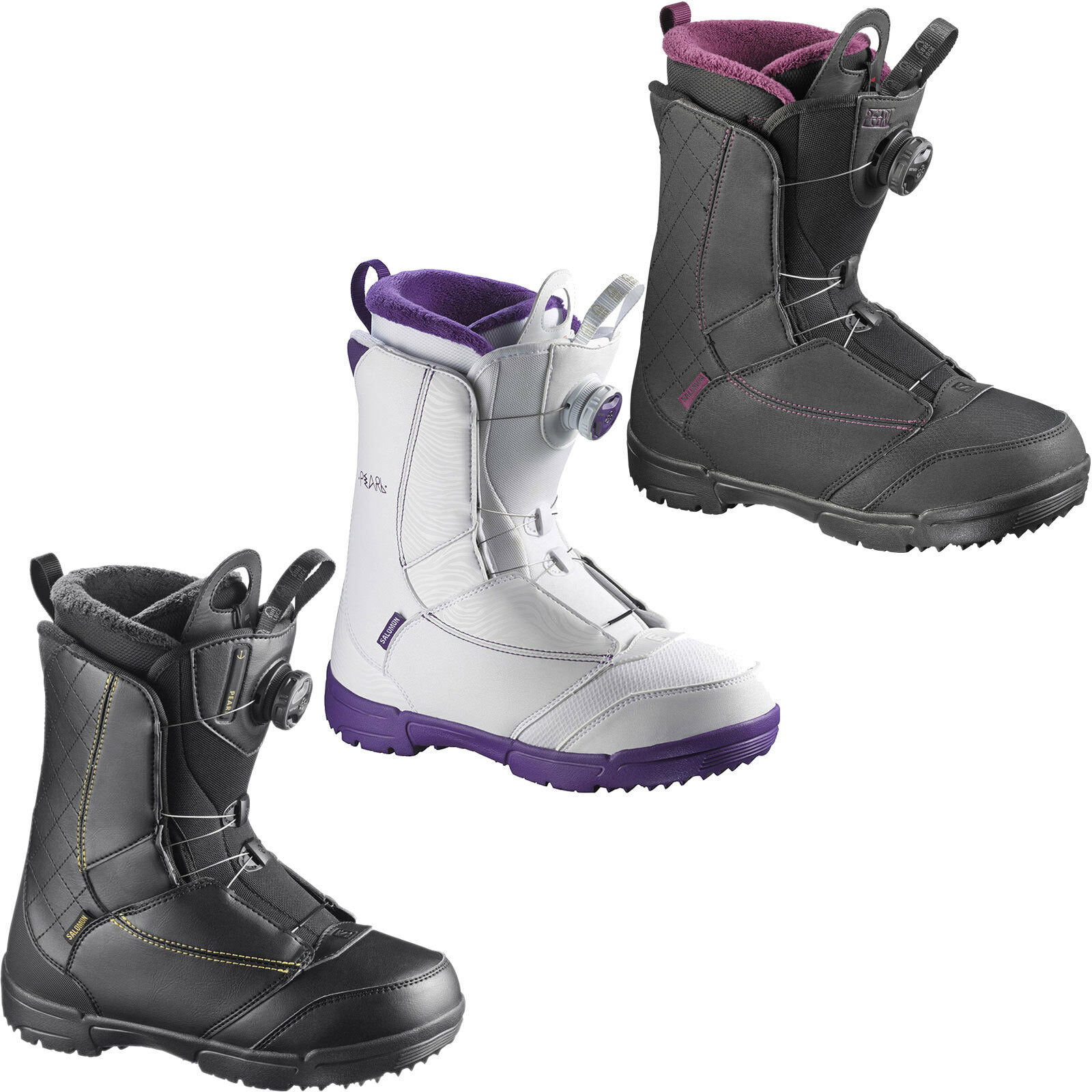 Salomon PEARL BOA Womens  Snowboard Boots Snowboard shoes Snowboard Boots New  cheaper prices