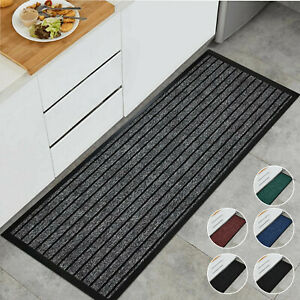 Non Slip Heavy Duty Rubber Mat Indoor Outdoor Door Mats Runner Kitchen Floor Mat