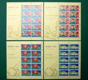 Guernsey-Kleinbogensatz-MiNr-635-38-postfrisch-MNH-Cept-1994-CB1334
