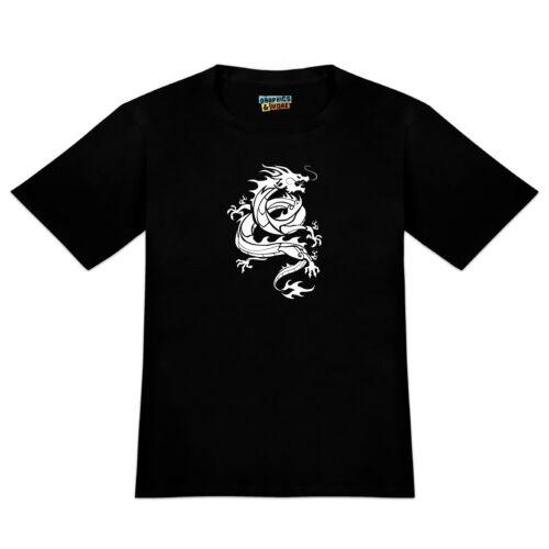 Tribal Dragon Asian Men/'s Novelty T-Shirt
