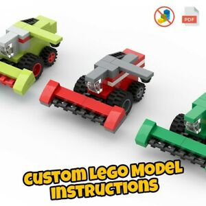LEGO Science Lab Custom Model .PDF INSTRUCTIONS ONLY NO BRICKS!