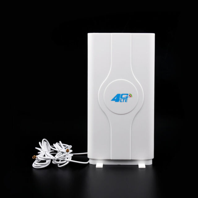 Indoor Blazing Fast 3G 4G 88dBi LTE MIMO Antenna 700MHz-2600MHz 2M TS-9 Wire BS1