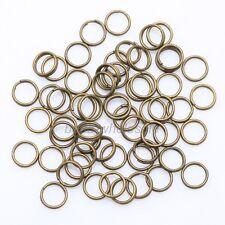 Wholesale Double Split Jump Rings Connectors Findings 4/5/6/8/10/12/14mm UK