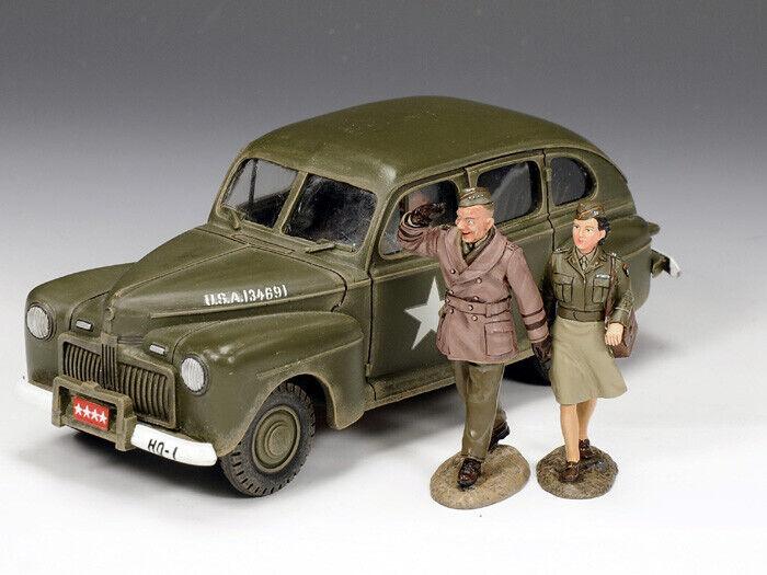 King & Country - DD154 - The Eisenhower Staff Car Car Set