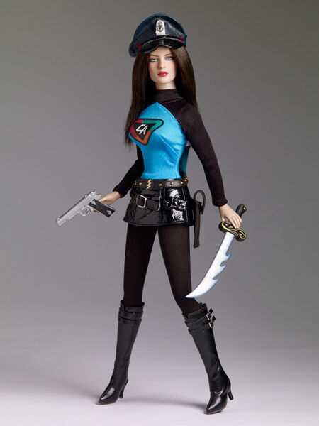 Tonner Lady Action doll NRFB limited edition of 1000