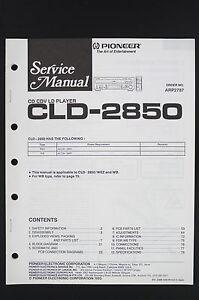 PIONEER-CLD-2850-Original-CD-CDV-LD-Player-Service-Manual-Circuit-Diagram-o122