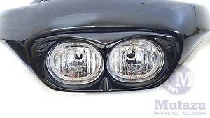 Mutazu Bad Boy Road Glide Headlight Bezel Fits Harley Road