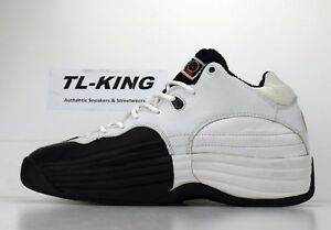 0aeef7e357d34e OG Vintage Nike Air Jordan Team 1 White Black Right Shoe Only sz 9.5 ...