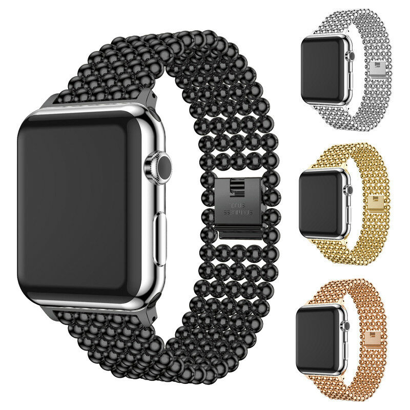 iwatch: For Apple Watch Series 6 5 4 3 2 40/44mm Stainless Steel iWatch Band Women Strap