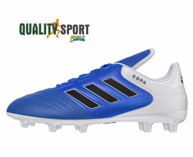 13a7bf8f7b4eb Adidas Copa 17.3 FG Blu Scarpe Uomo Sportive Calcio Soccer Shoes BA9717