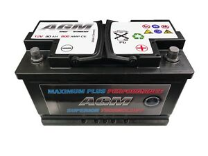 Image Is Loading Jaguar Xf Battery 12 Volt 80ah 800 Amp