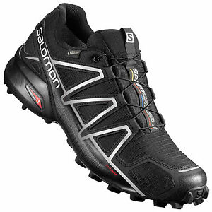 salomon speedcross 4 gtx herren schwarz original