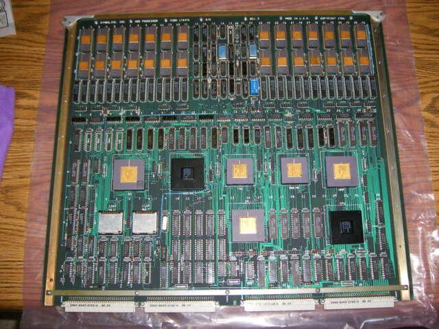 Symbolics NBS processor board P/N 170393
