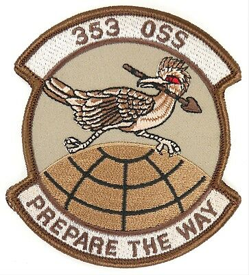 USAF 353d SOSS SPECIAL OPERATIONS SUPPORT SQUADRON WEATHER FLIGHT PATCH