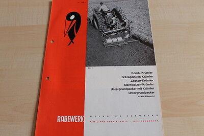 Intellective 144374 Rabewerk Untergrundpacker Krümler Prospekt 08/1968