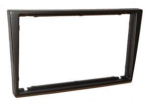 Facade-cadre-reducteur-adaptateur-gris-autoradio-2DIN-pour-Suzuki-Wagon-R