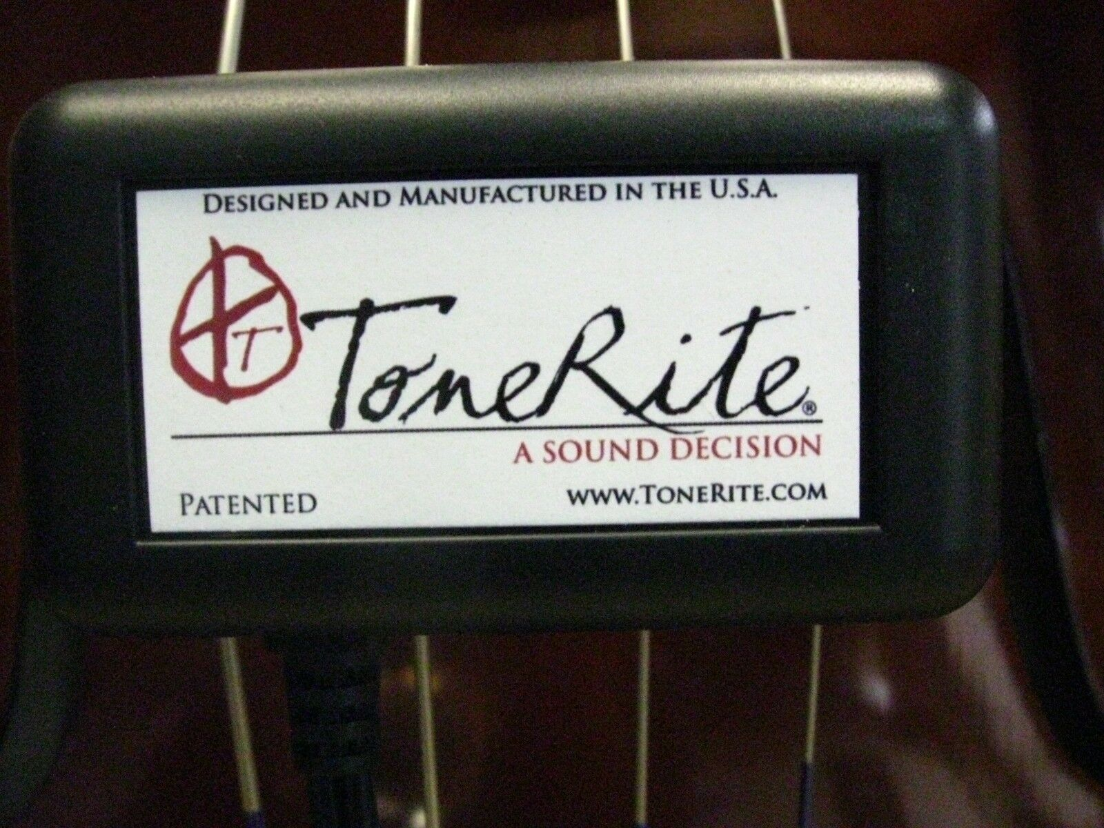 ToneRite-Tone Enhancer for Double Bass-Model 3G-New-Works Great