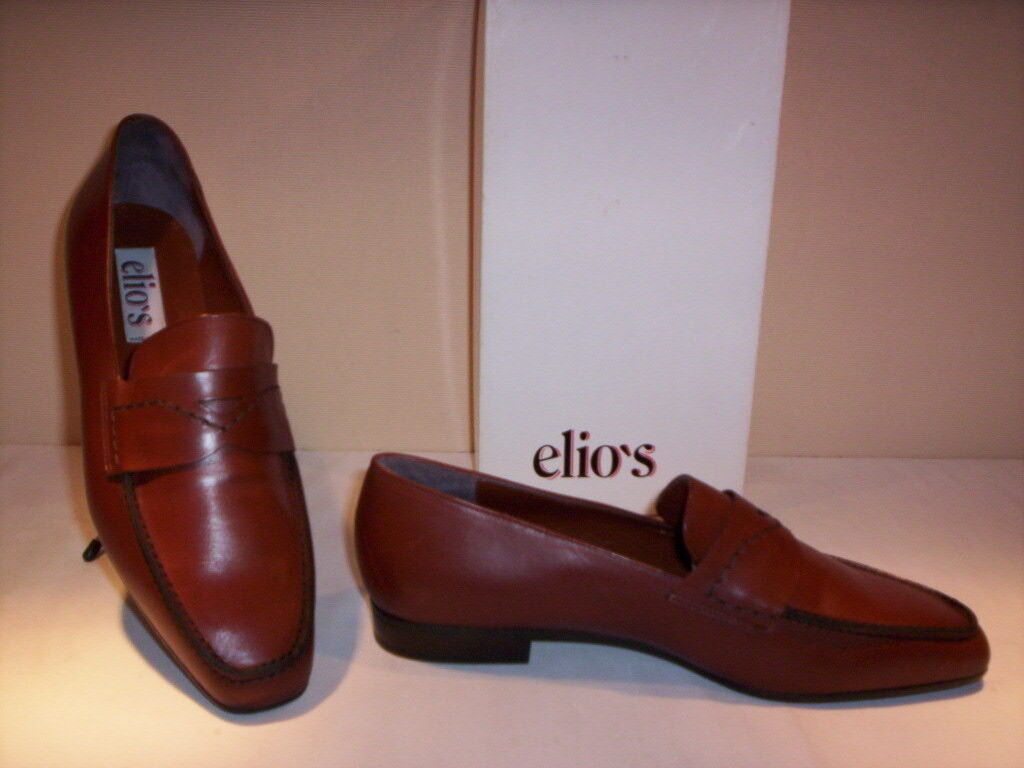 Classic Braun schuhe loafers schuhe Elio's woman Leder Braun Classic new new n 38 474744