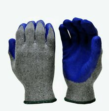 Rubber Latex Coated Work Gloves Menssold By Pair