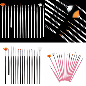 15Pcs-Nail-Art-Design-Dotting-Brush-Painting-Pen-Tool-Drawing-Brushes-3-Color