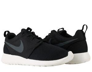 sociedad Masaje En particular  Nike Roshe One Black/Anthracite-Sail Men's Running Shoes 511881-010 Size 8  | eBay