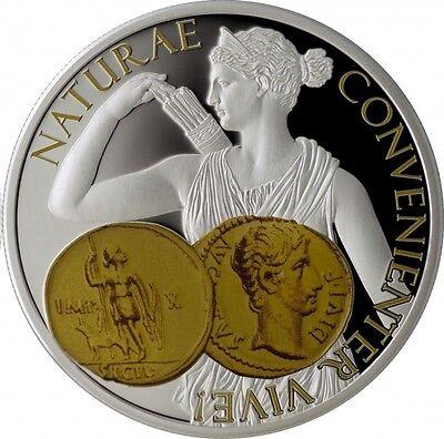 Australia & Oceania Coins & Paper Money Self-Conscious 2015 Niue Proof Silver $1 Diana Aureus-rare-mintage 999 Sales Of Quality Assurance