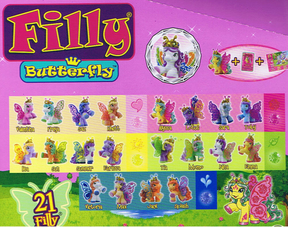 FILLY BUTTERFLY - serie completa - - - GEDIS 2014 528354