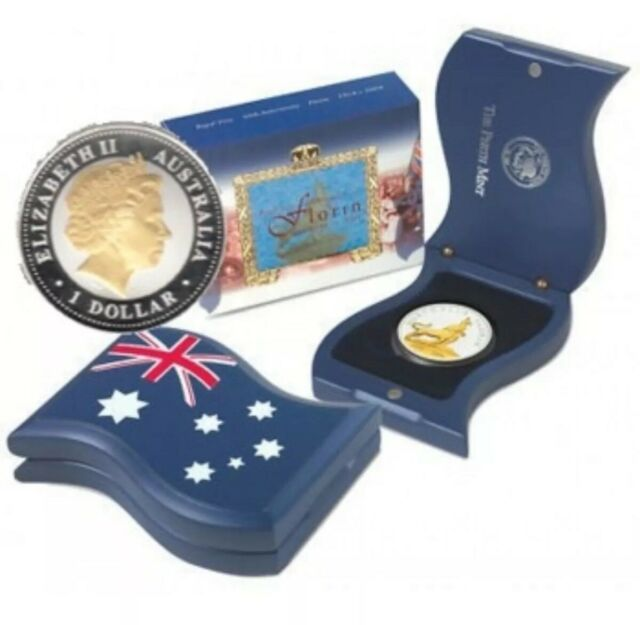 💰2004 Perth Mint 'ROYAL VISIT 50TH ANNIVERSARY FLORIN' 1oz Silver Proof Coin