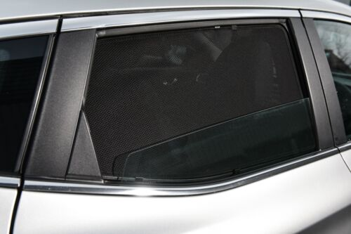 Sonnenschutz Blenden für Dacia Sandero I 2008-11//2012 Sonnenblenden Komplett-Set