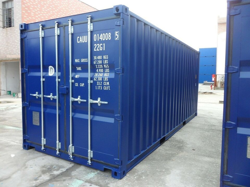 Isolerede 20' containere