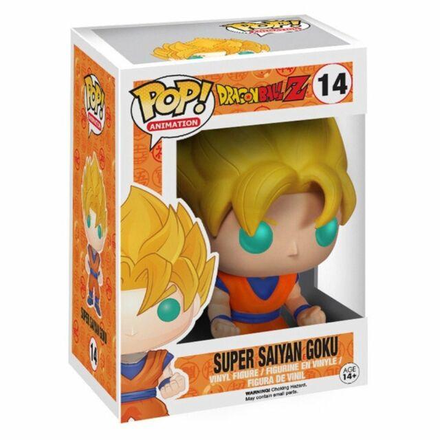 Pop Animation Dragonball Z 14 Super Goku Saiyan Brillant en Foncé Figurine Funko