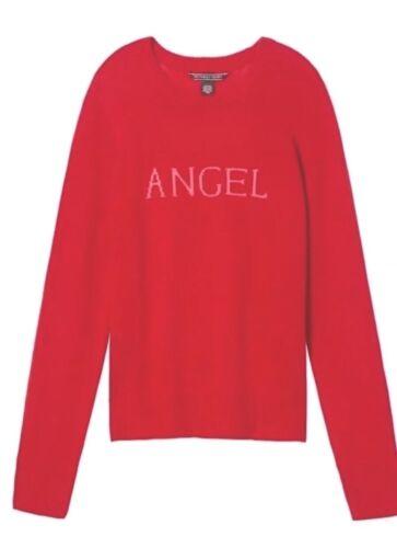 Sweater Large Secret Gave Victoria's 100 Red Angel New Cashmere Valentinsdag 6vwgq
