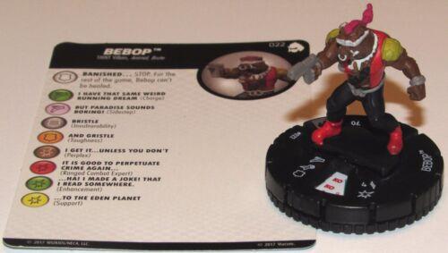 BEBOP 022 Teenage Mutant Ninja 3 Turtles Shredder's Return HeroClix Rare