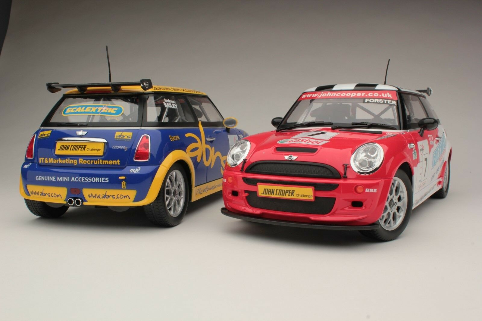Mini Cooper S Competition / Quality R/C Model / Huge Scale 1:10 /   ERC08211B