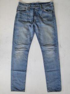 508 W32 L34 Slim Jeans Stonewashed Tuyau Herren Levis Blau 7d8x07
