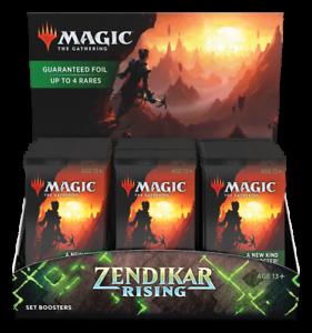 Zendikar-Rising-Set-Booster-Box-30-Packs-Brand-New-With-Box-Topper-MTG