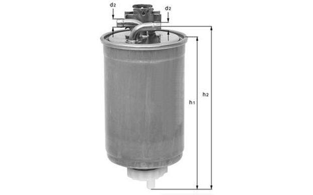 KNECHT Filtro combustible SEAT LEON TOLEDO VOLKSWAGEN GOLF PASSAT AUDI KL 233/2