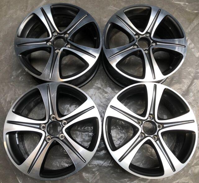 4 Mercedes-Benz Alufelgen 7.5Jx17 ET40 A2134011200 E W213 V213 S213 C238 FM53