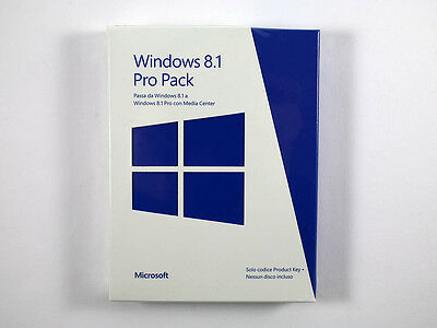 Intelligent Microsoft Windows 8.1 Pro Pack Retail Gut FüR Antipyretika Und Hals-Schnuller De/en/fr 32 / 64 Bit Multilingual