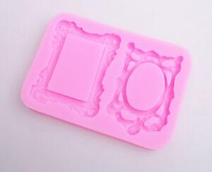Creative-3D-Mirror-Frame-Silicone-Fondant-Mould-Cake-Chocolate-Decor-Mold