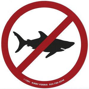 The-original-039-No-Sharks-Allowed-039-Surf-Sticker